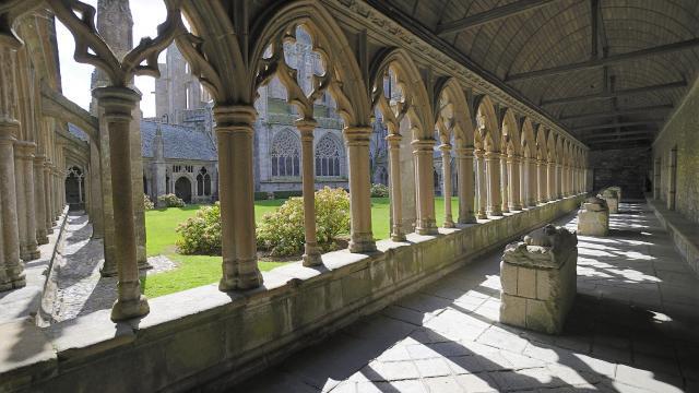 Cloître de la Cathédrale de Tréguier