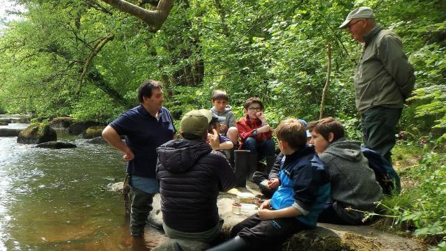 Ecole de pêche-enfants Léguer