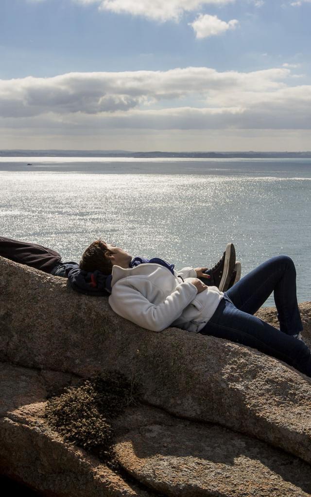 Ile Milliau Couple Derennes Yannick
