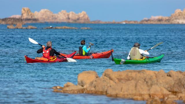 Kayak de mer Plougrescant