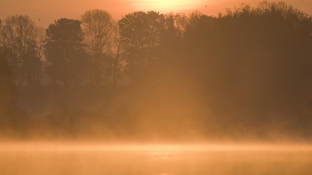 Lac de lave étang Beffou Plougras
