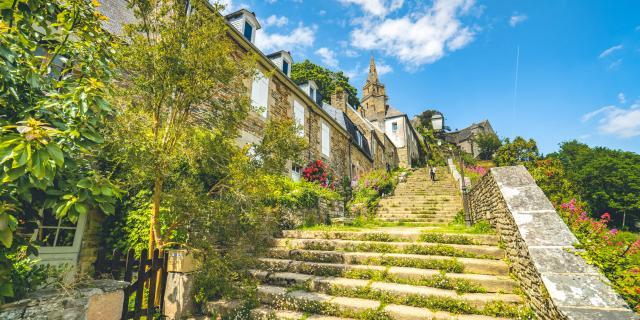 Escalier de Brélévenez à Lannion