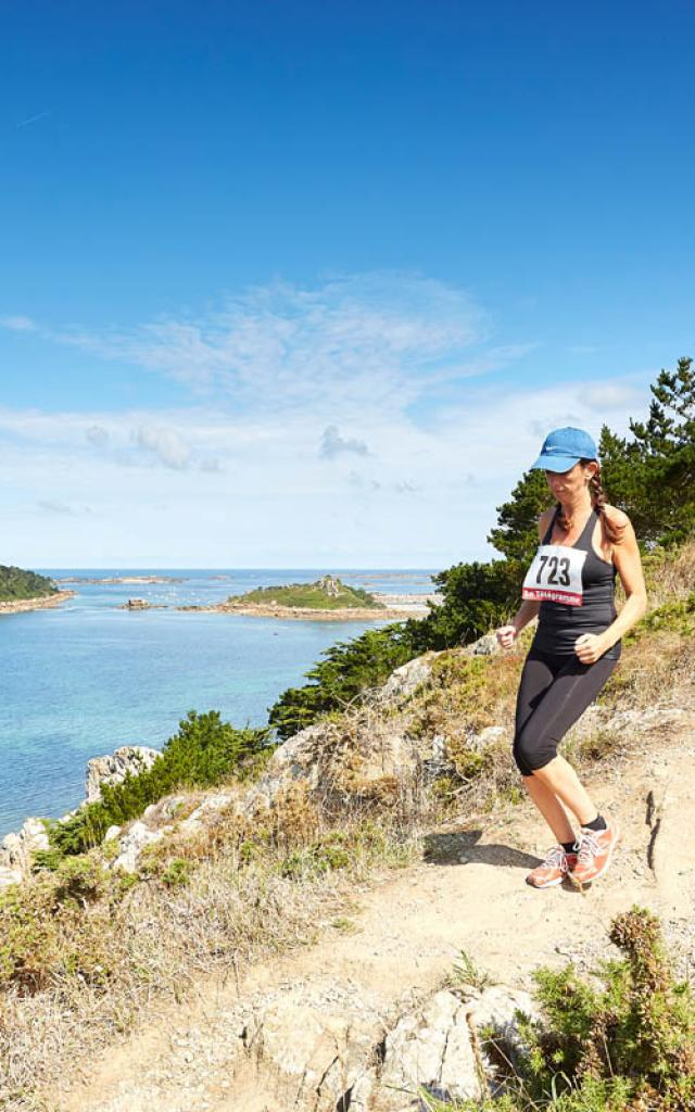 Running-Trail sur la Côte de Granit Rose