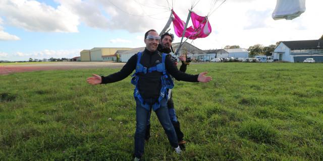 Saut chute libre tandem 7eme ciel parachutisme