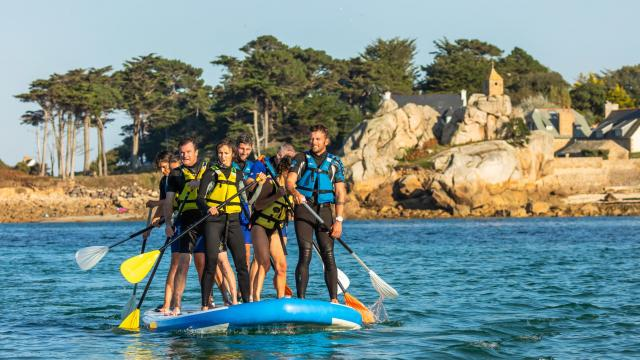 Stand up paddle géant Port Blanc