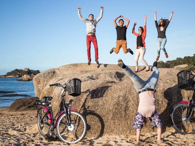 Vélektro le vélo à assistance électrique de la Côte de Granit Rose