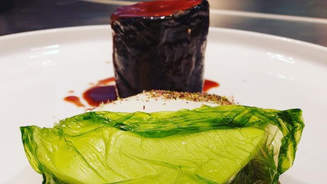 Aigue Marine Veau Algues Champignons