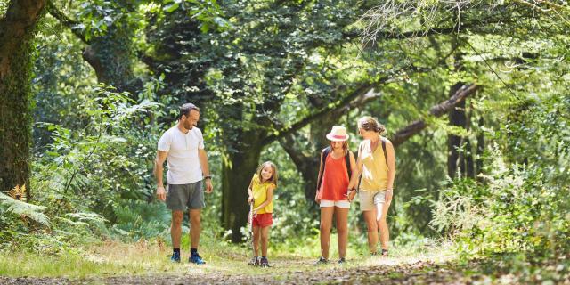 Balade randonnée en famille