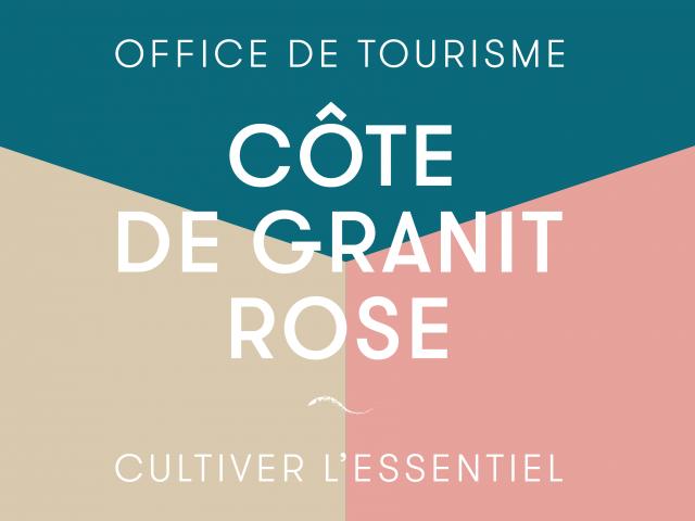 Logo Officde de Tourisme Bretagne Côte de Granit Rose