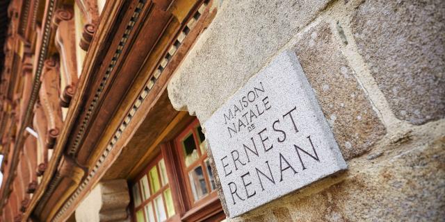 Maison Ernest Renan - Tréguier