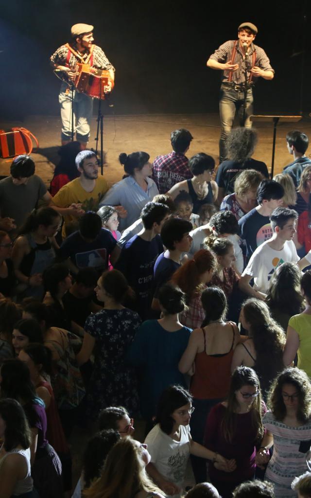 Fest-Noz Interlycées 2018 Mezv Dall