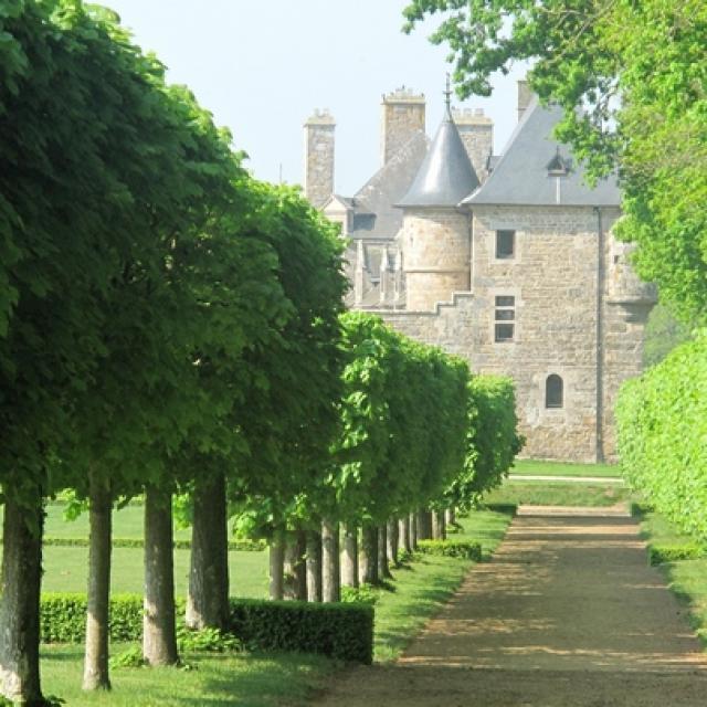 Chateau Rosanbo - Le Parc Allée de Tilleuls