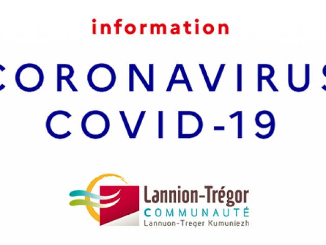 Info Covid 19 Lannion-Trégor Communauté
