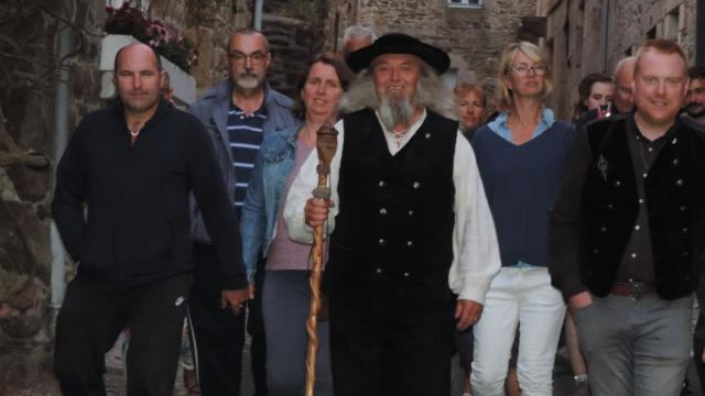 Balade contée Yvon Dagorn à Tréguier