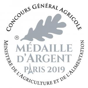 Medaille Argent 2019 CMJN