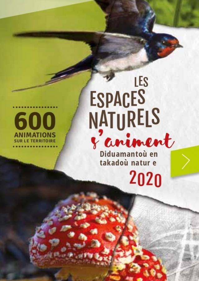 Les Espaces Naturels S'animent 2020
