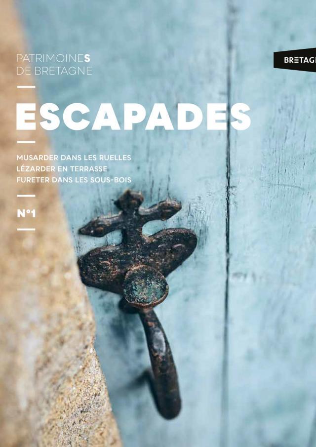 Page de couverture Magazine Escapades