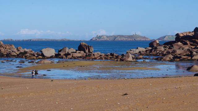 Trégastel - Vue sur les 7 îles