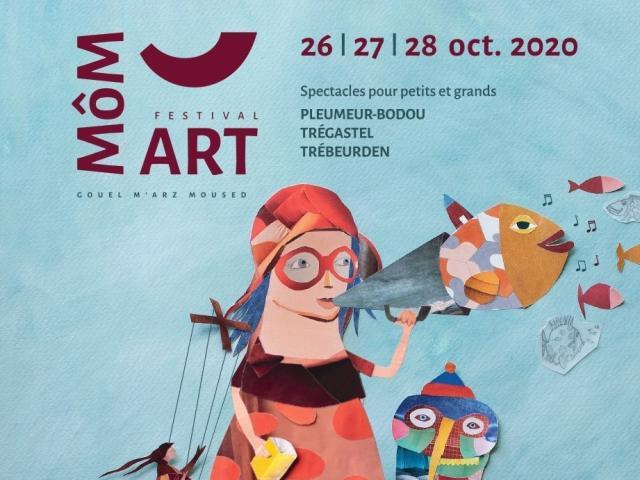 Affiche Môm'art 2020