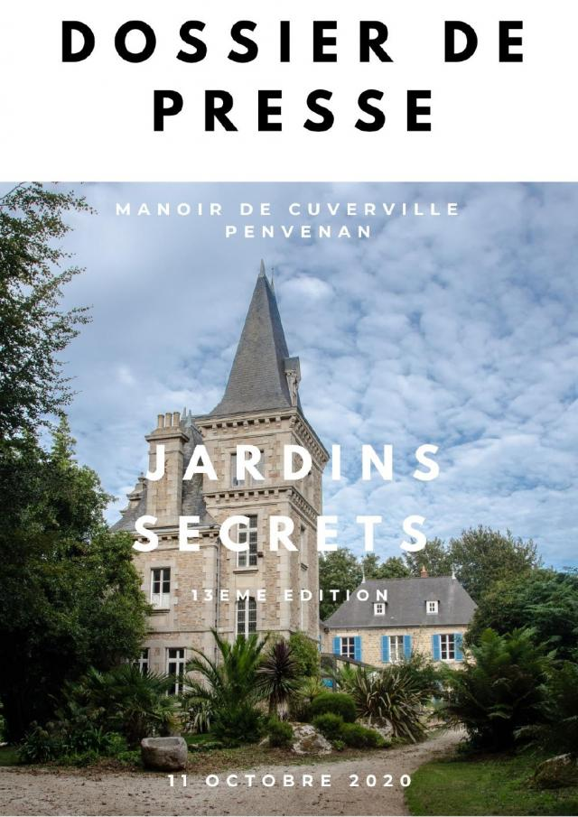 Dossier De Presse Jardins Secrets 2020