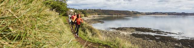 Running Trail sur sa Côte se Granit Rose