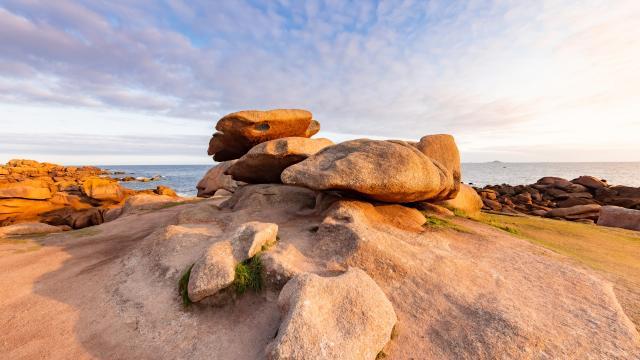 Presqu'île Renote à Trégastel - Côte de Granit Rose