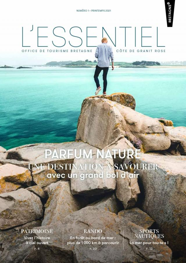 Magazine L'essentiel Printemps 2021 Couverture Web
