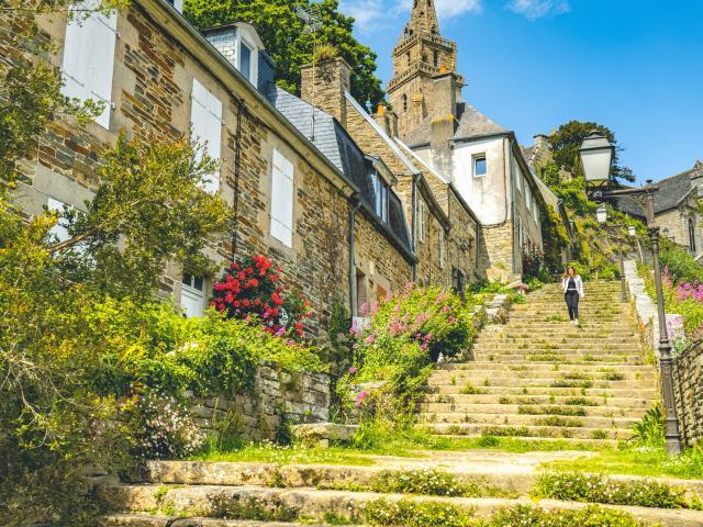 Escalier de Brélévenez - Lannion