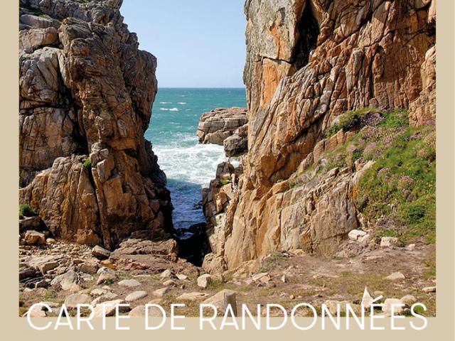 carte rando Côte d'Ajoncs - Lézardrieux