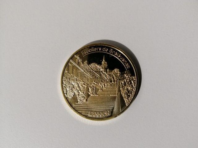 Fonderie Saint Luc Médaille Du Souvenir Escaliers De Brélévenez Lannion