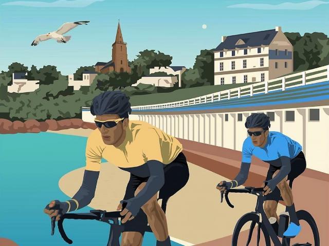 Tour de France sur la Côte de Granit Rose