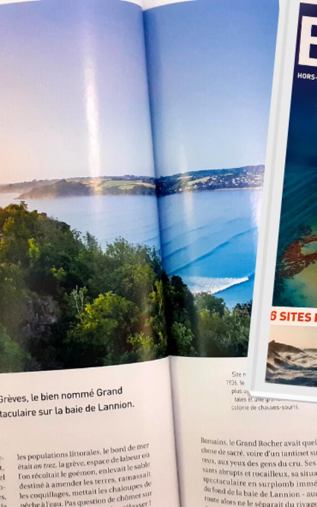 Couv + Article Bretagne Magazine