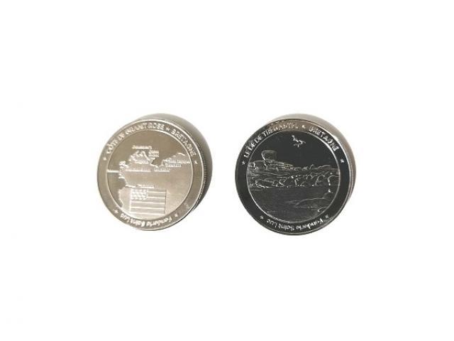 Médaille du souvenirs de Trégastel
