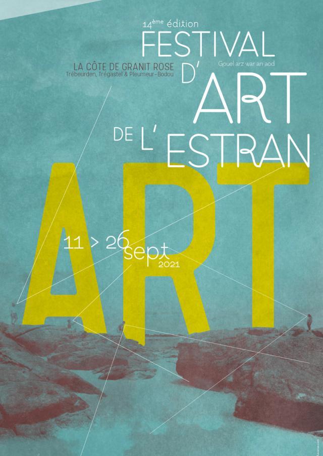 Affiche Festival Art Estran 2021