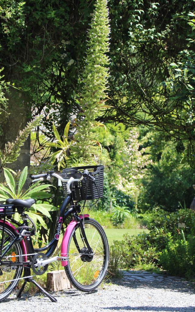Jardin de Kerdalo à vélo