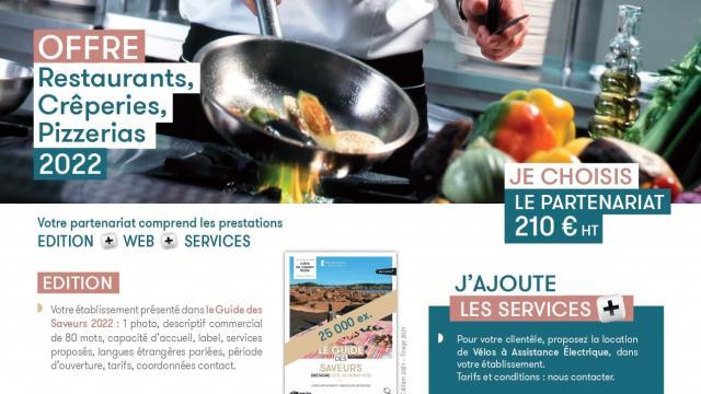 Offre de Partenariat 2022 Restaurants